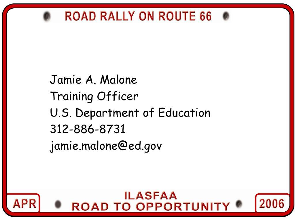 Jamie A. Malone