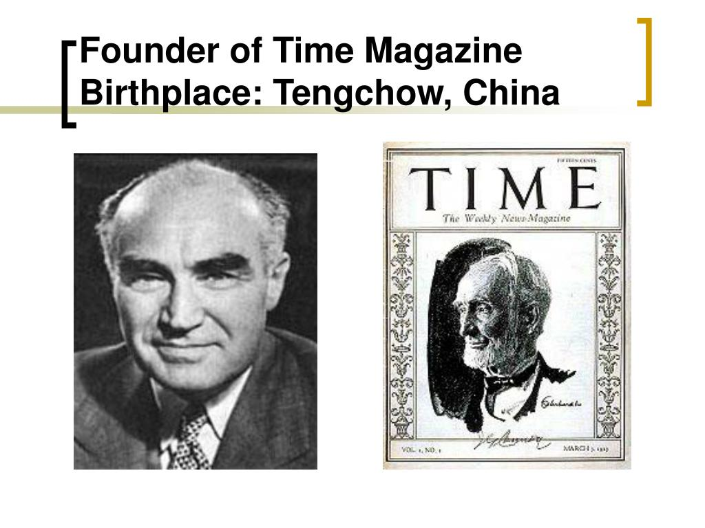 Founder of Time Magazine