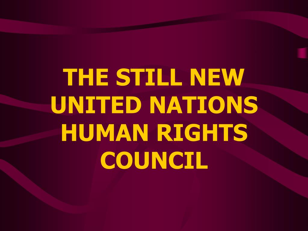 THE STILL NEW UNITED NATIONS
