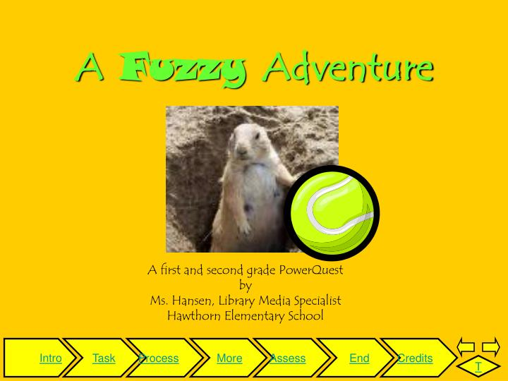 A fuzzy adventure