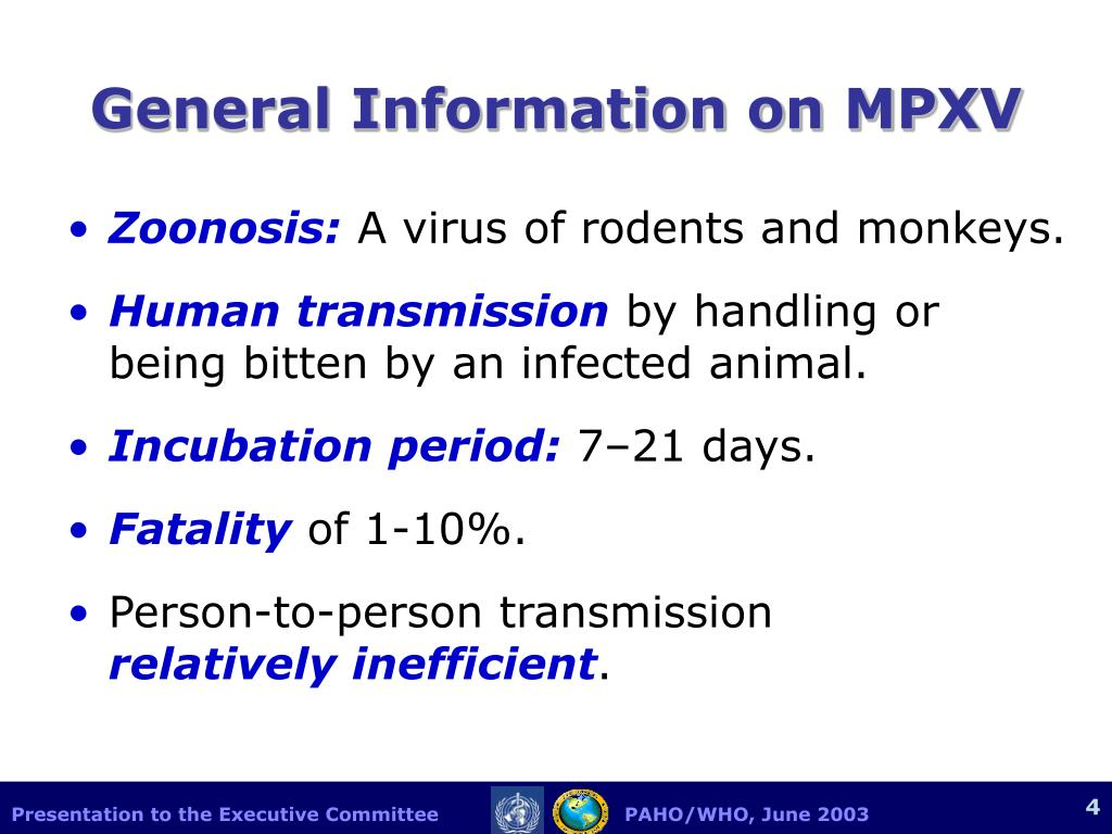 General Information on MPXV