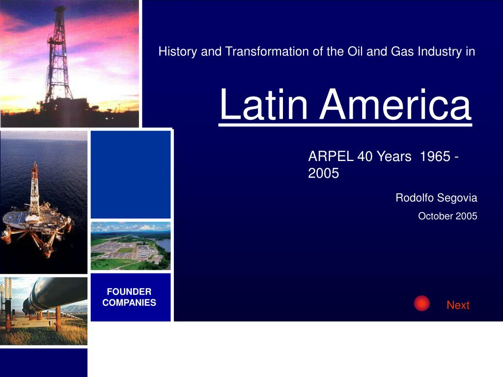 History and Transformation of the Oil and Gas Industry in