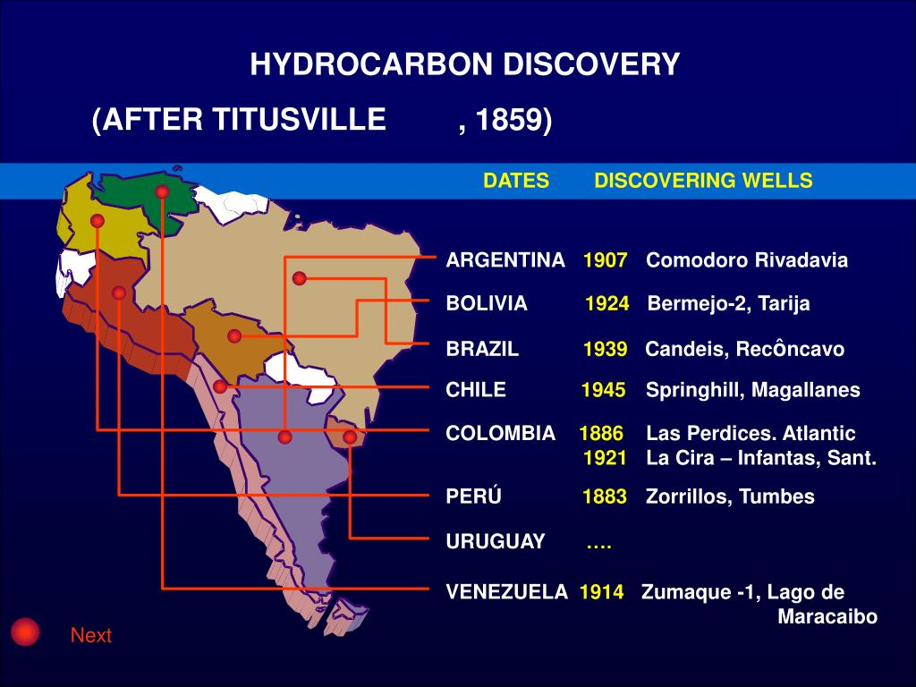 HYDROCARBON DISCOVERY