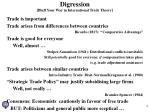 digression bluff your way in international trade theory