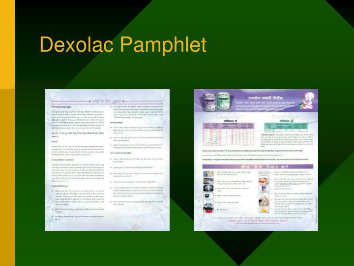 Dexolac Pamphlet