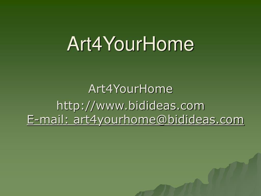 Art4YourHome