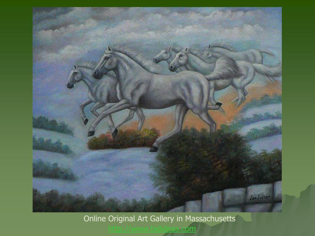 Online Original Art Gallery in Massachusetts