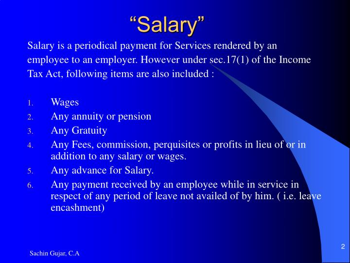 """Salary"""