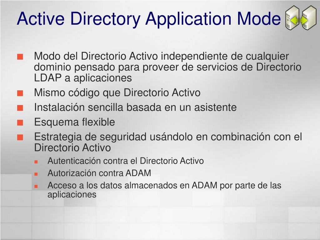 Active Directory Application Mode