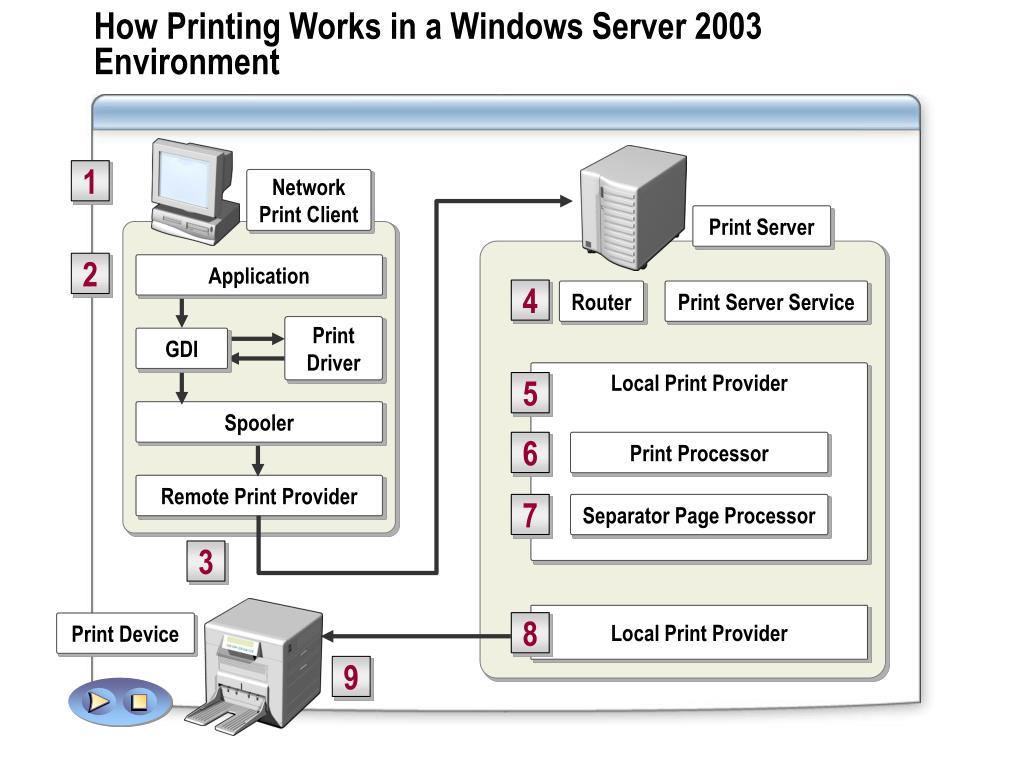 Network Print Client
