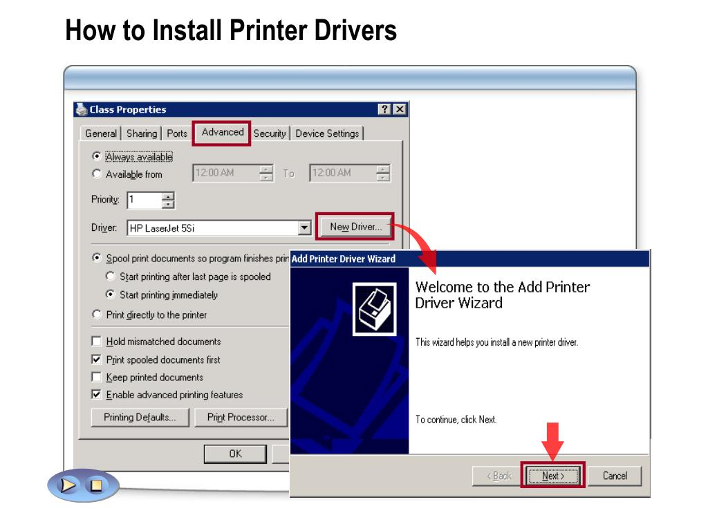 How to Install Printer Drivers