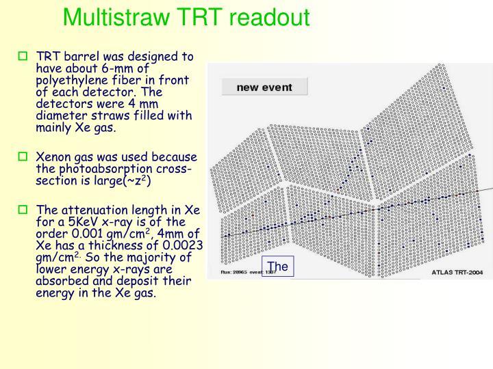 Multistraw TRT readout