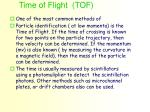 time of flight tof