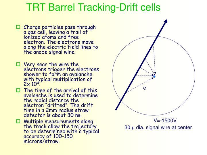 TRT Barrel Tracking-Drift cells