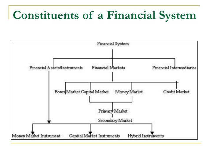 Constituents of a Financial System