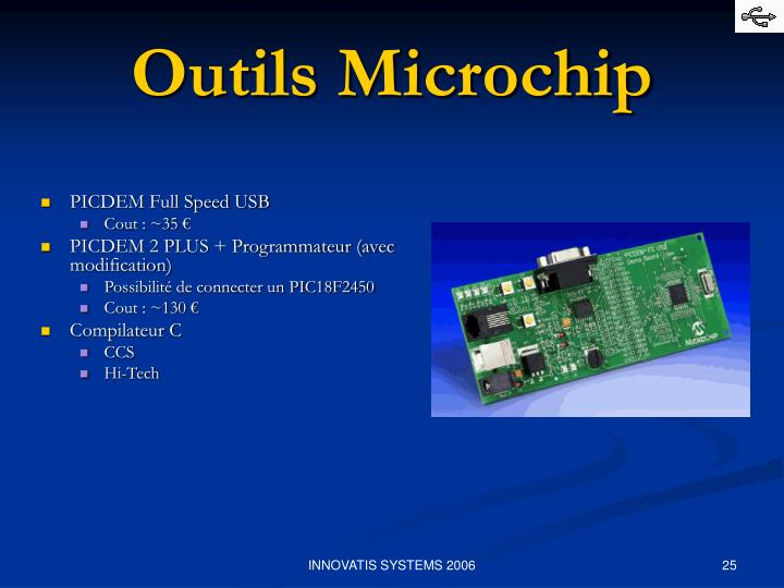 Outils Microchip