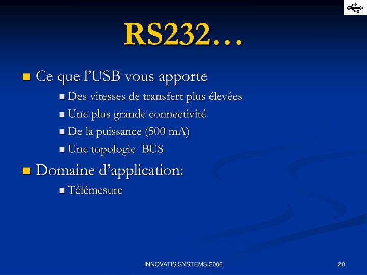 RS232…