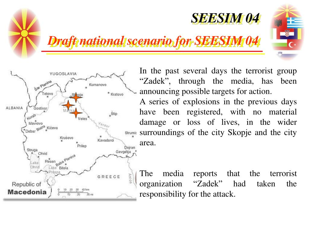 """In the past several days the terrorist group """"Zadek"""", through the media, has been announcing possible targets for action."""