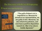 the doctrine of inherited depravity2