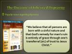 the doctrine of inherited depravity3