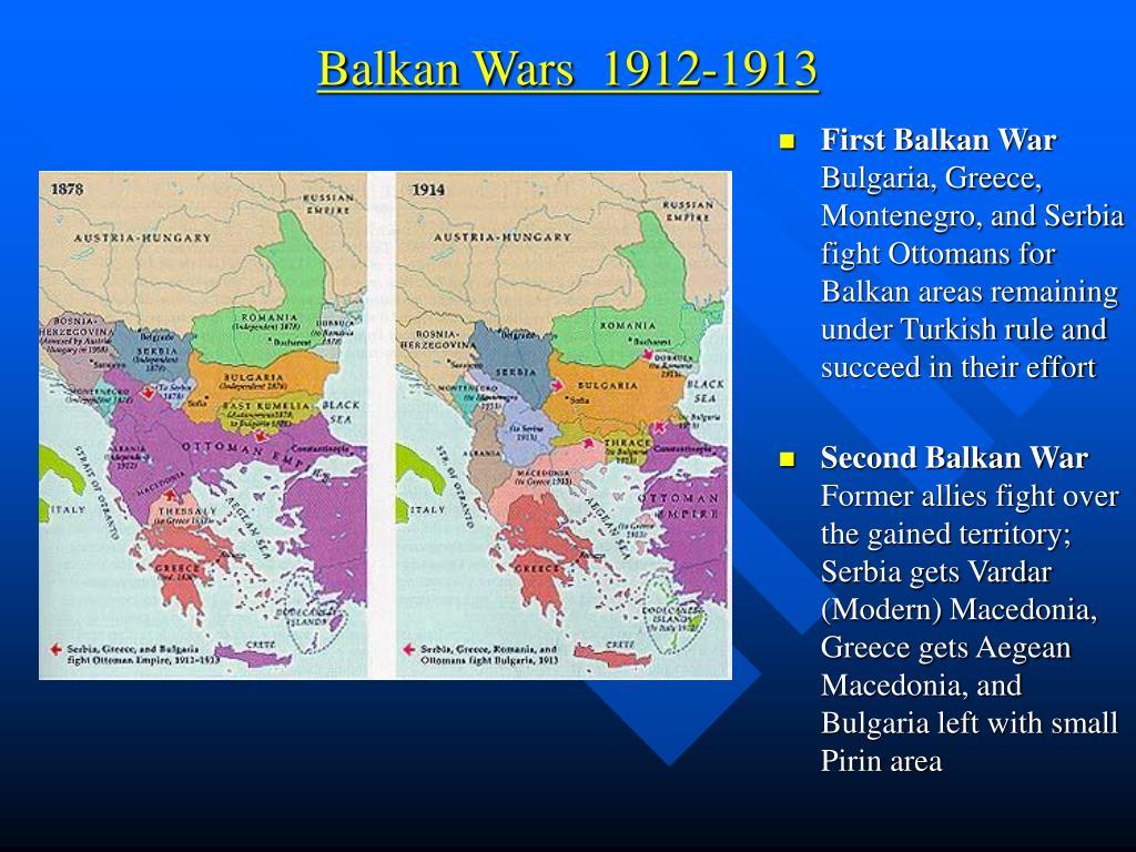 Balkan Wars  1912-1913