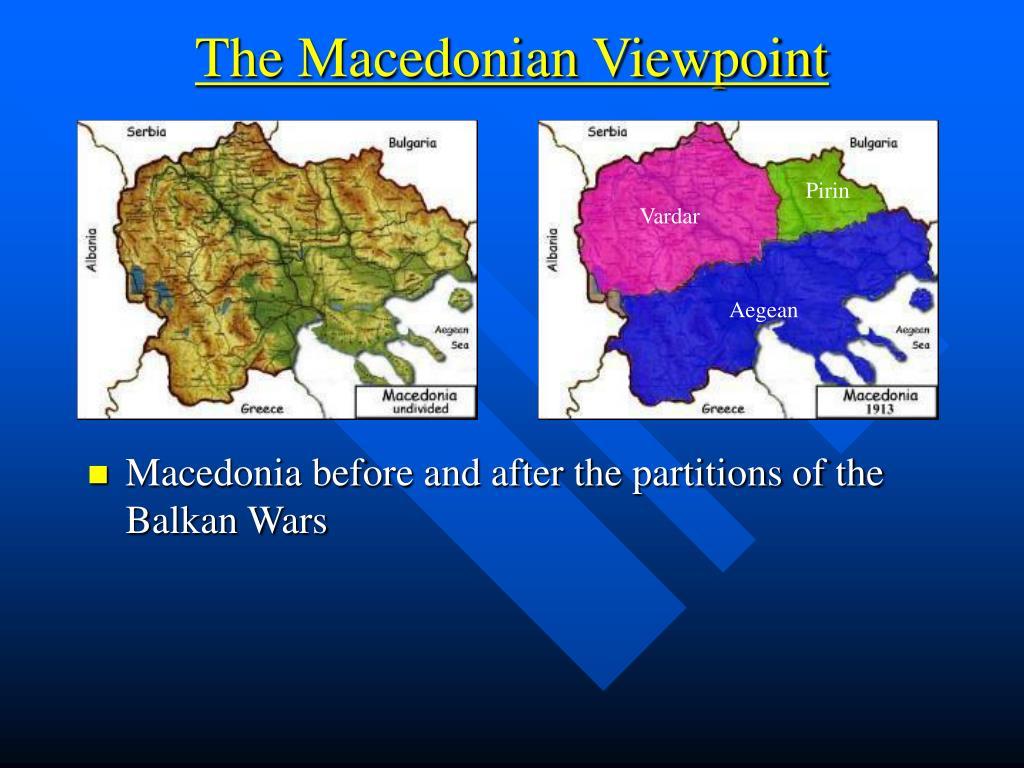 The Macedonian Viewpoint