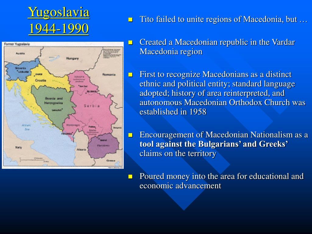 Yugoslavia  1944-1990