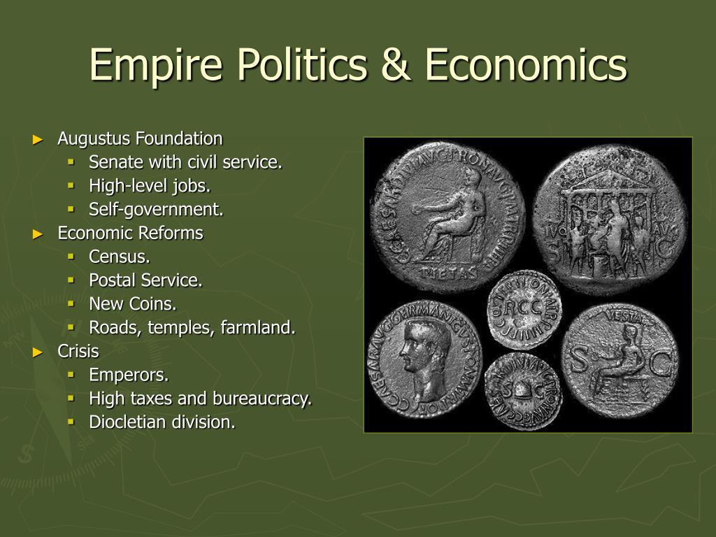 Empire Politics & Economics