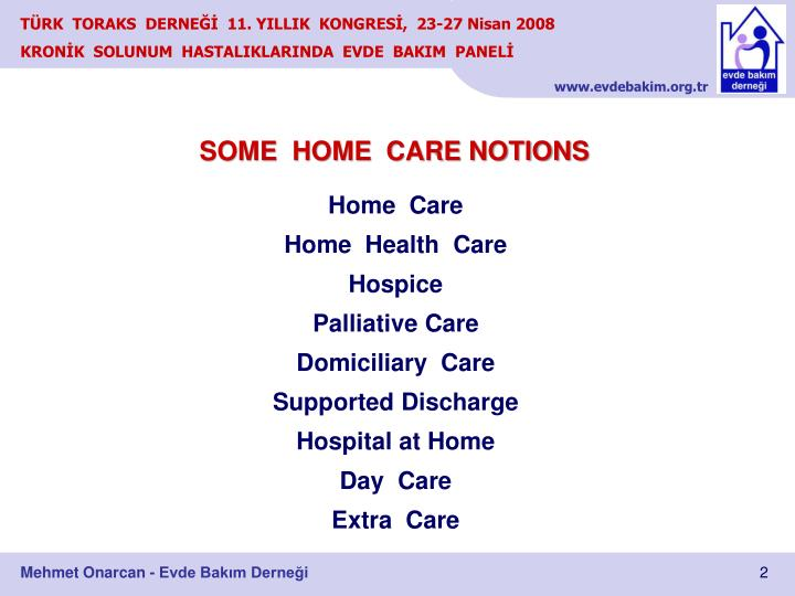 SOME  HOME  CARE NOTIONS