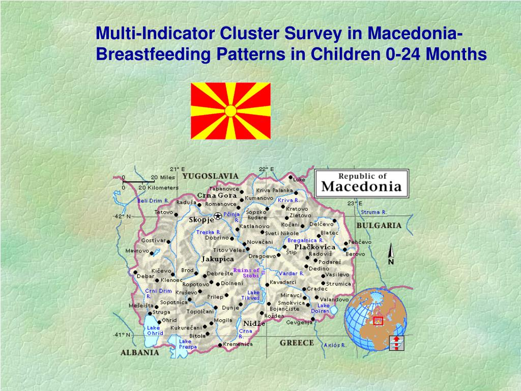 Multi-Indicator Cluster Survey in Macedonia-
