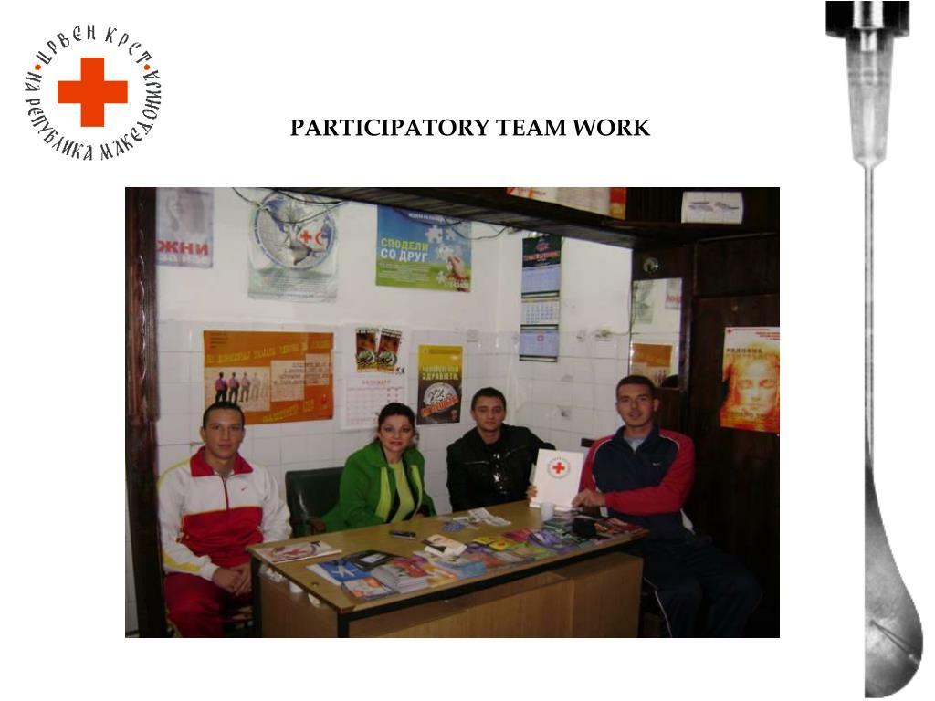 PARTICIPATORY TEAM WORK