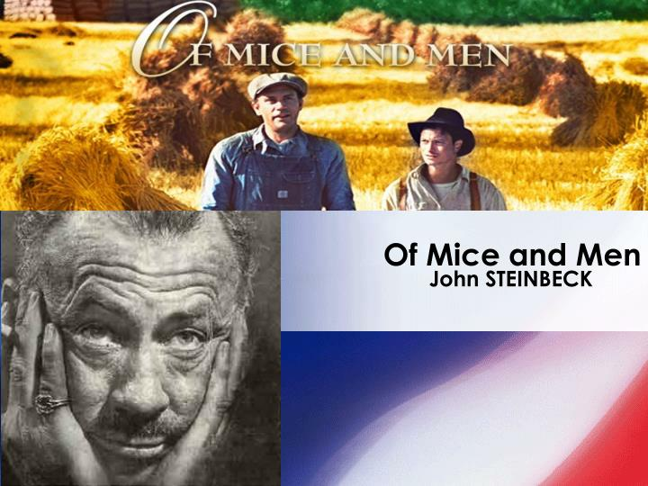 an analysis of the actions of george in of mice and men by john steinbeck Of mice and men: themes - theme analysis / irony by john of mice and men by john steinbeck george and lennie dream of owning a.