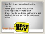 best buy conclusion