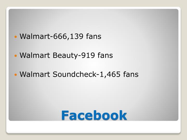 Walmart-666,139 fans