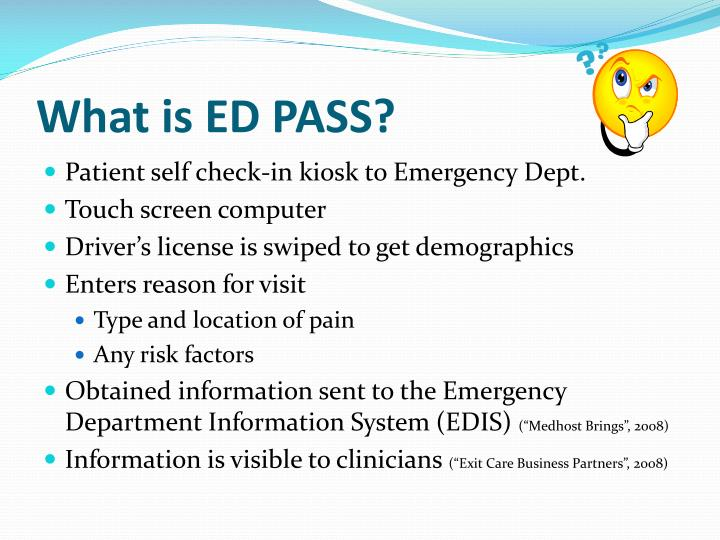 What is ed pass