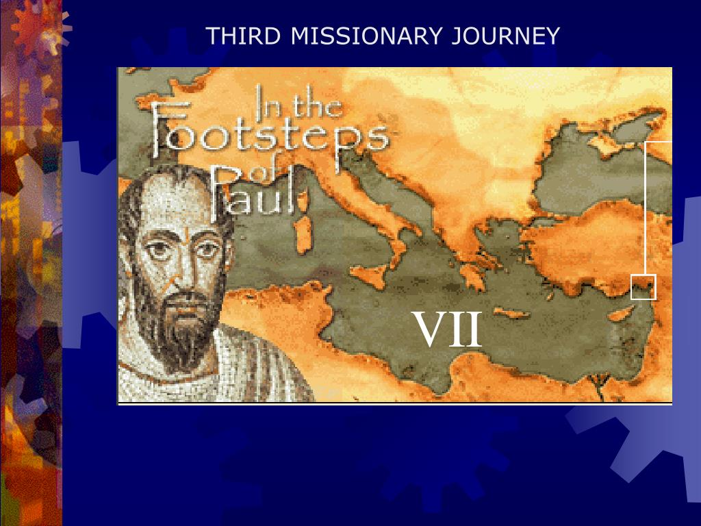THIRD MISSIONARY JOURNEY