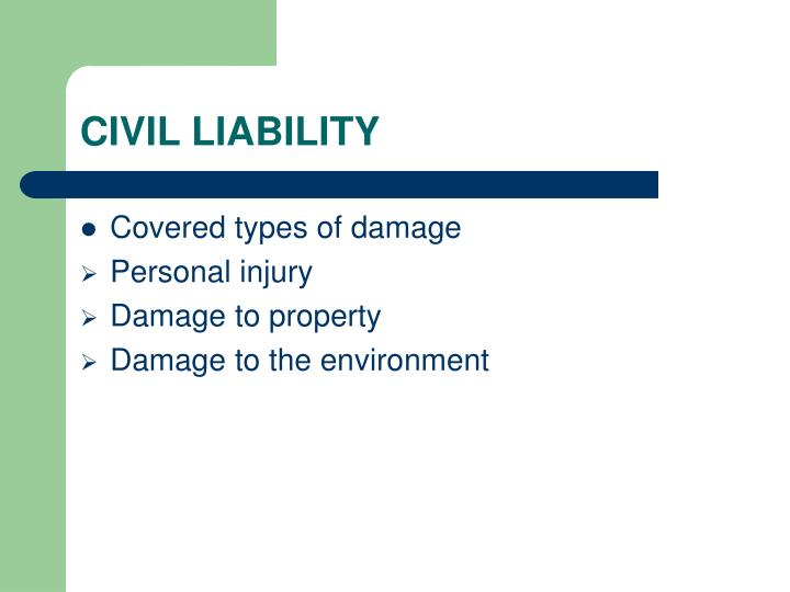 Civil liability3