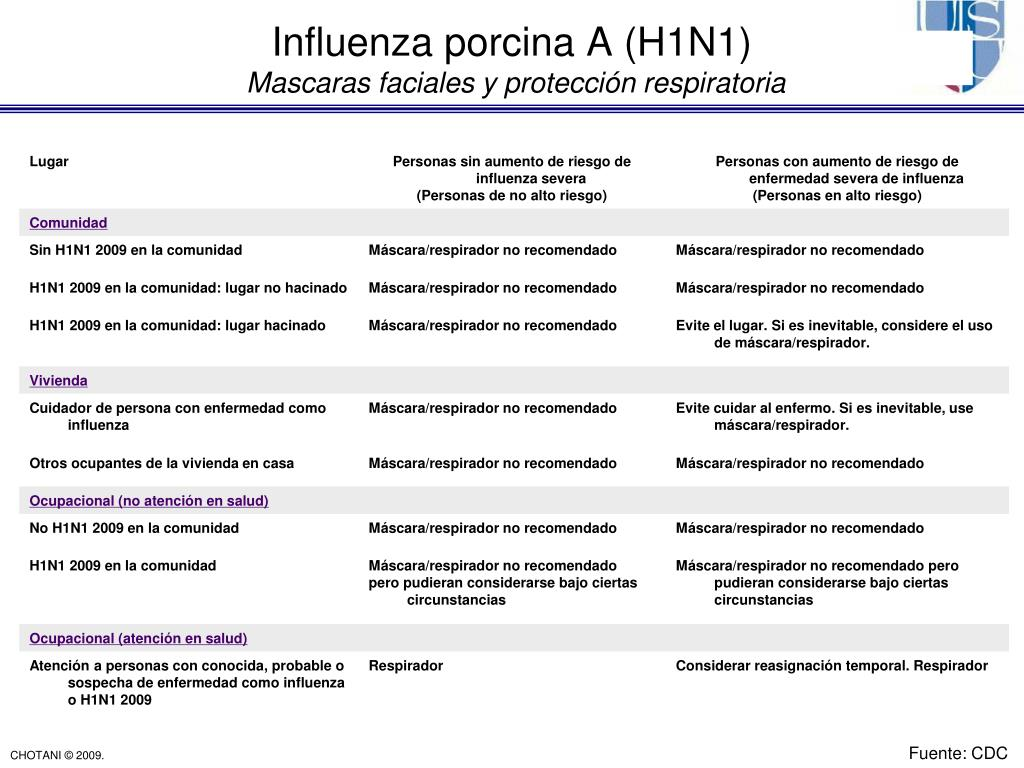 Influenza porcina A (H1N1)
