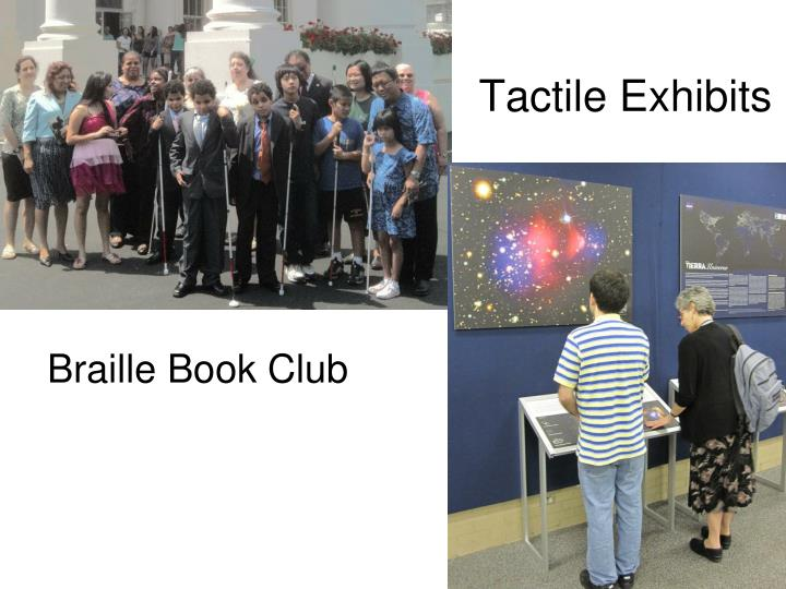 Tactile Exhibits