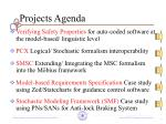 projects agenda