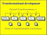 transformational development