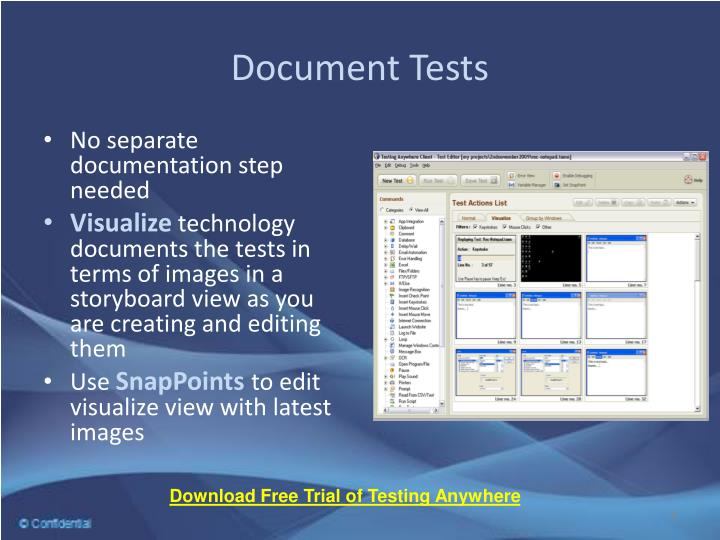 Document Tests