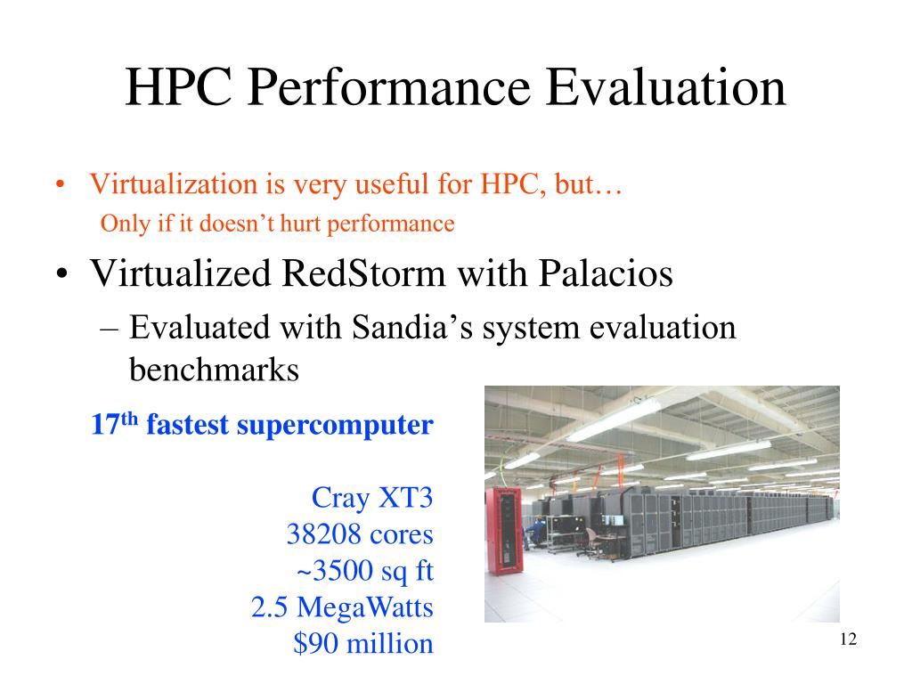 HPC Performance Evaluation