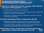investing across borders project benchmarking countries openness to fdi