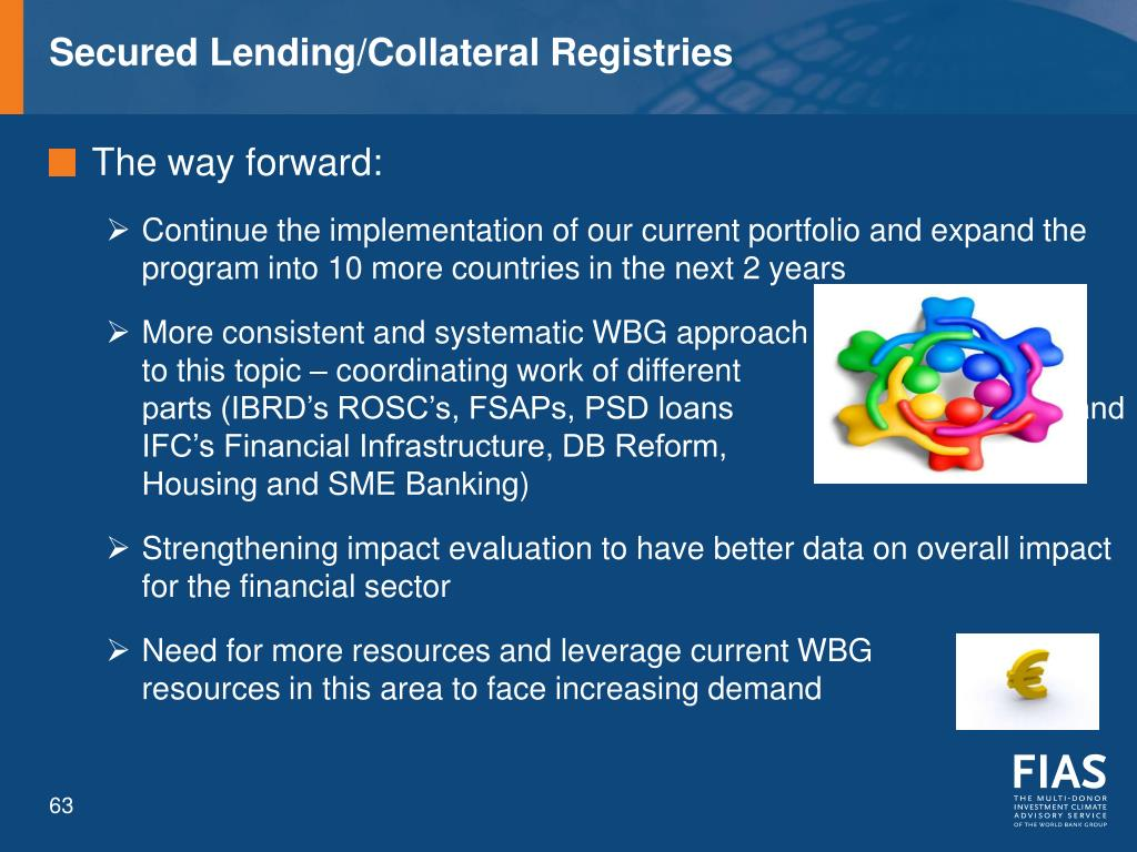 Secured Lending/Collateral Registries