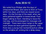 acts 20 6 12