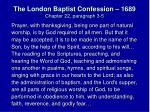 the london baptist confession 1689 chapter 22 paragraph 3 5