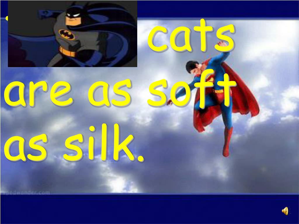 Those cats are as soft as silk.