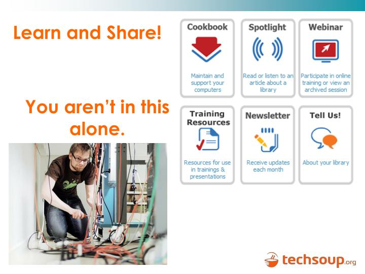 Learn and Share!