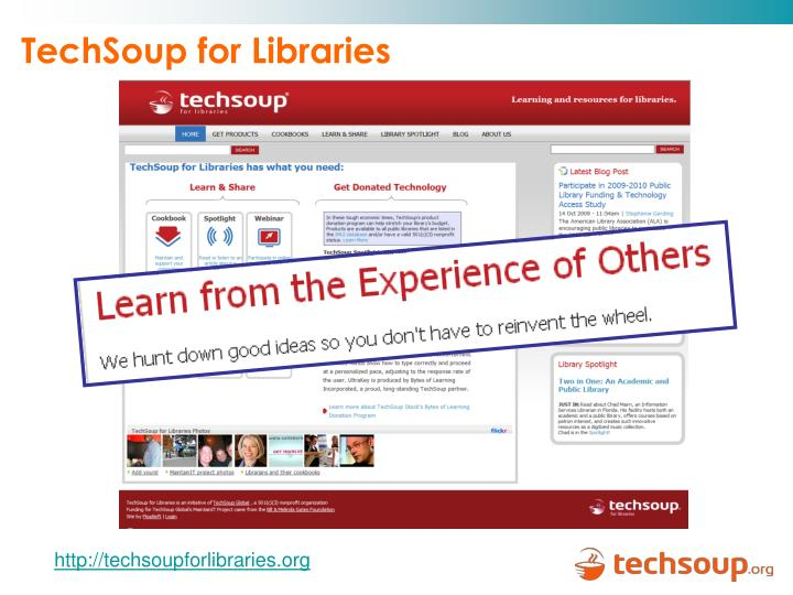TechSoup for Libraries